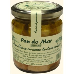 Albacore in Olive Oil Organic Extra Virgin, Pan do Mar