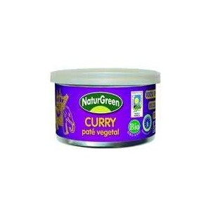 Organic Vegetable Curry Pate, Naturgreen