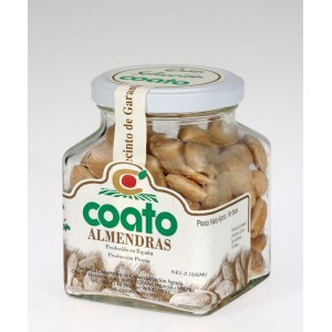 Marcona Almond -Coato - 5oz Aprox. Glass Jar.