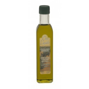 Arbequino Oil. Extra Virgin Arbequina Olive Oil - Oro Líquido - 5 fl. Oz. glass bottle.