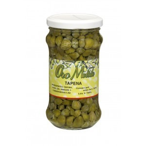 Tápenas or Capers, Oro Molido, 6oz Aprox.Jar