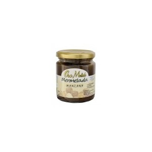 Apple Jam 9oz Organic, Organic Apple Jam - Ecoato - 280 gr Glass Jar