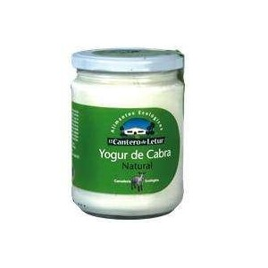Organic Goat Yogurt - The Letur Cantero – 15oz. glass jar.